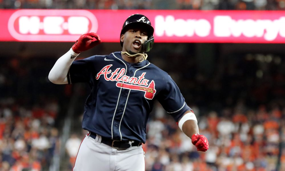 Photos: Braves beat Astros in Game 1 of World Series