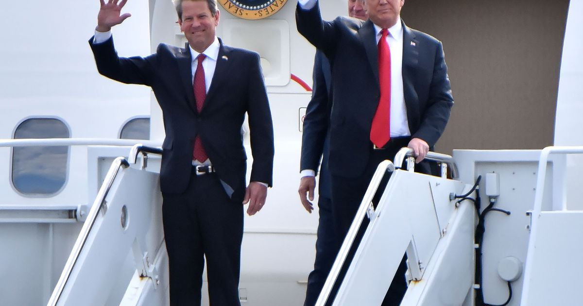 Kemp to Trump: Georgia law blocks him from 'interfering' with elections