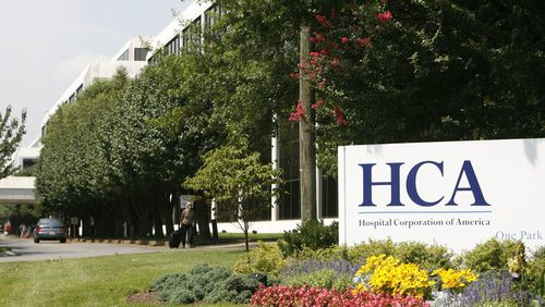 Nashville-based Hospital Corporation of America operates several hospitals in Georgia.  It made hundreds of millions of dollars in profit from the CARES Act. (AP Photo/John Russell)