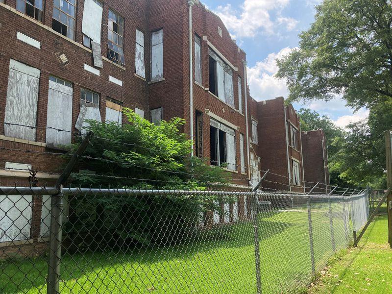 The English Avenue school has become an eyesore in the neighborhood.