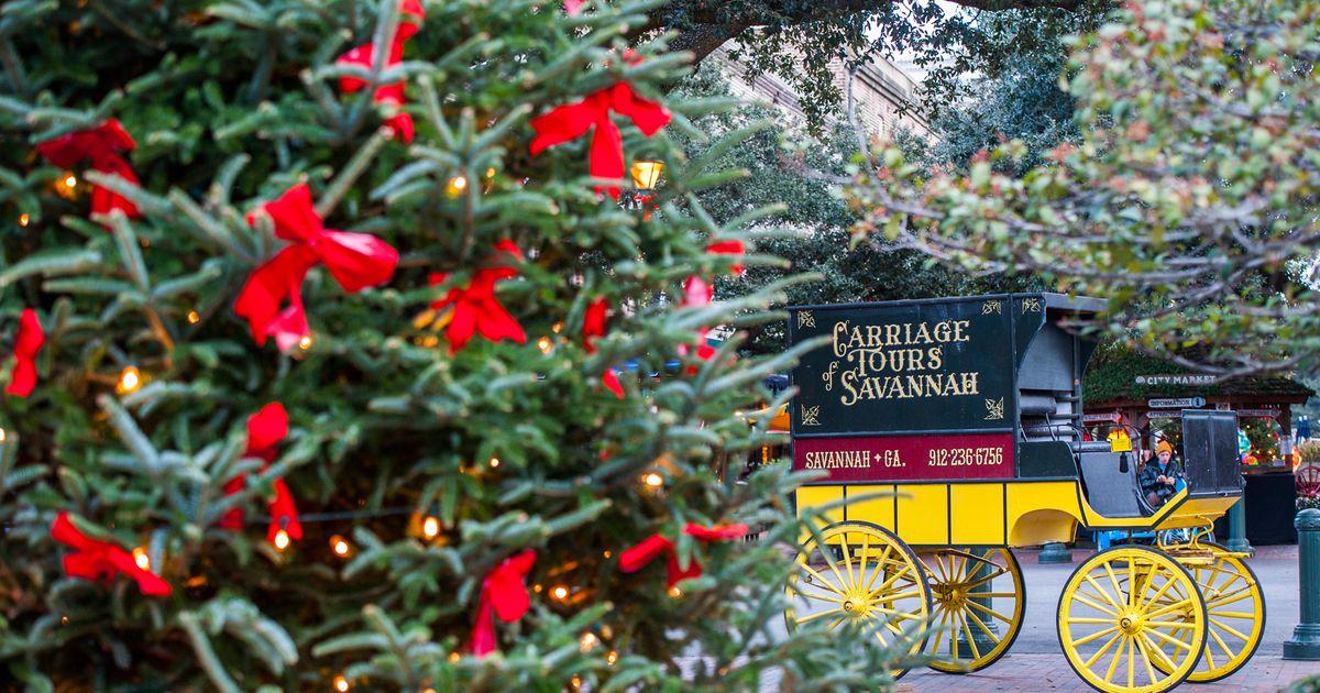 Christmas Parade Saturday Savannah Ga 2021 Christmas In Savannah