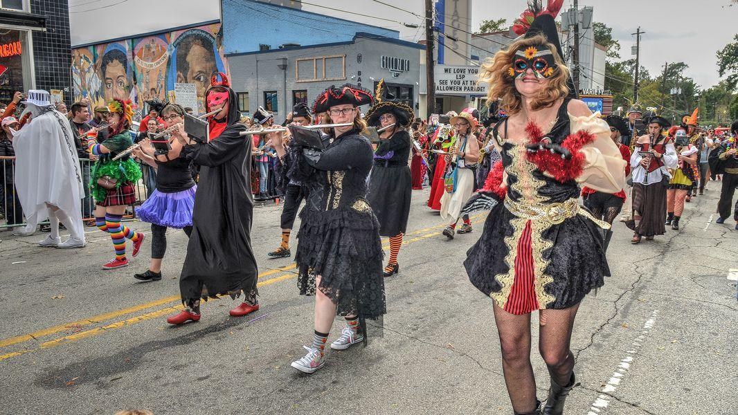 Halloween Paradae Atlanta 2020 Little 5 Points Halloween parade 2020 will be virtual