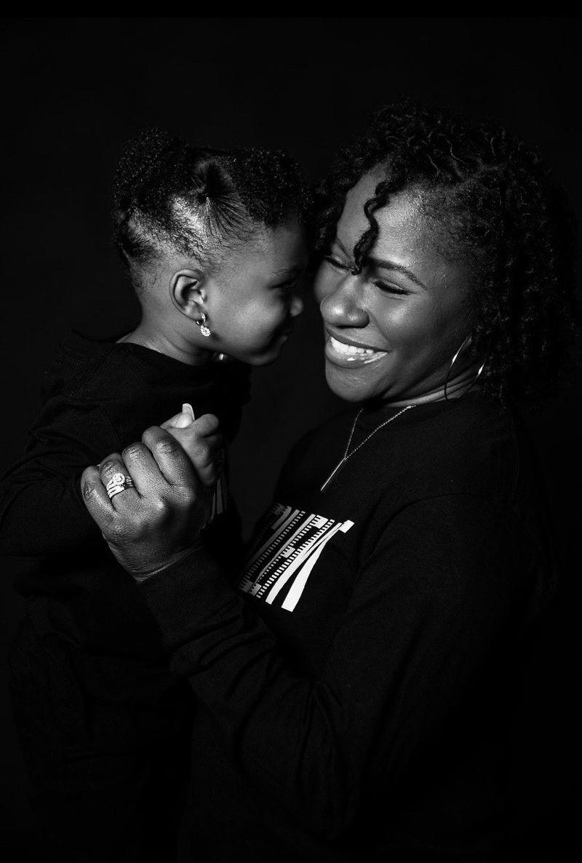 Sanari Hendricks, 31, of Douglasville with daughter Zion, 3. (Courtesy of Mike Newman / Shane Michael Photography)