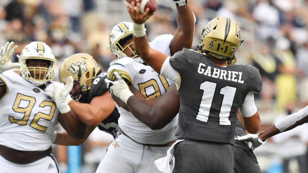 Georgia Tech Learning From Defensive Mistakes In Ucf Game