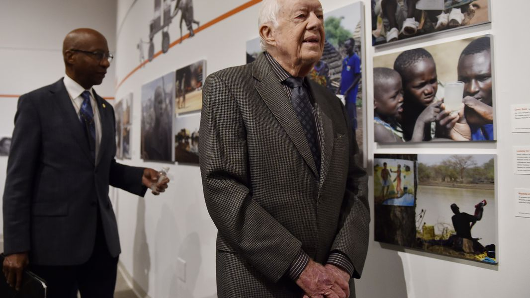Jimmy Carter Is On His Way To Donald Trump S Inauguration