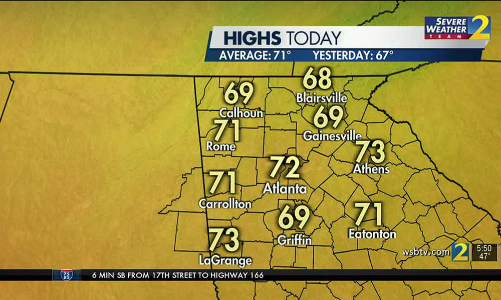 WEDNESDAY'S WEATHER-TRAFFIC: Another dry, cool day before next round of rain