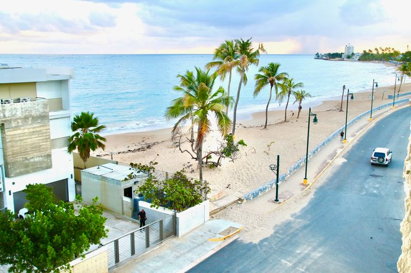 Playa Ocean Park is where the locals go to the beach in San Juan, Puerto Rico. (Suzanne Van Atten for The Atlanta Journal-Constitution)