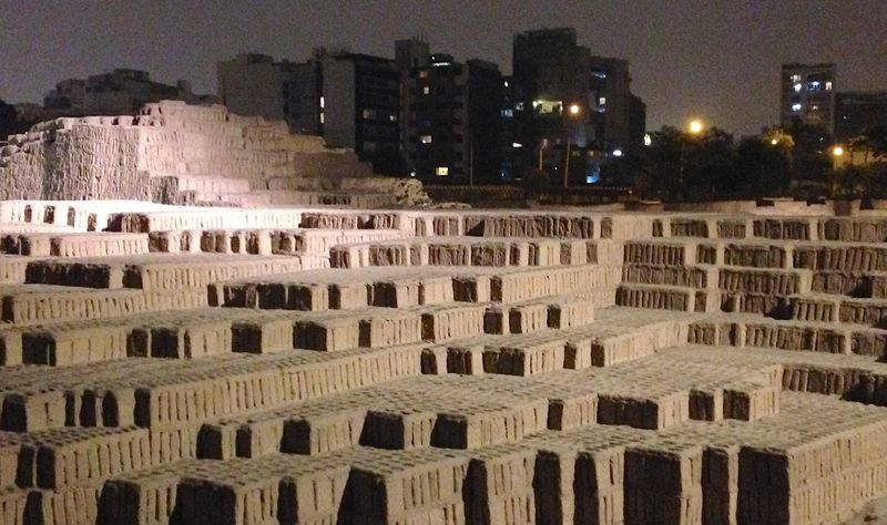Huaca Pucllana ruins date back to 400 A.D. (Suzanne Van Atten for The Atlanta Journal-Constitution)