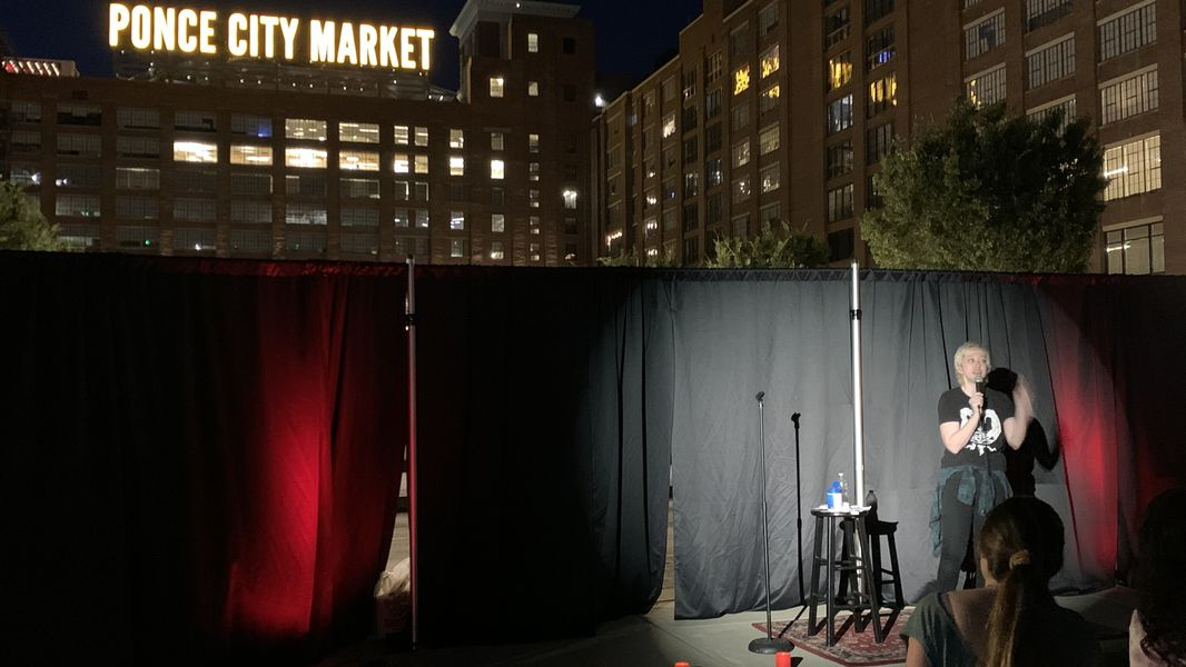 Pandemic Inspires Short Circuits Outdoor Stand Up Comedy At Ponce City Market