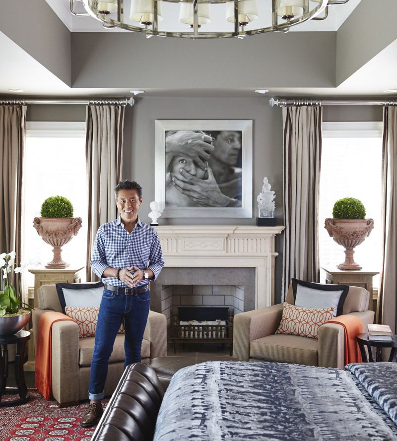 Interior designer Vern Yip is an avid photography collector.  Courtesy of David A. Land