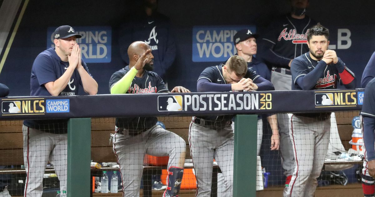 A great Braves season ends on a bitter note