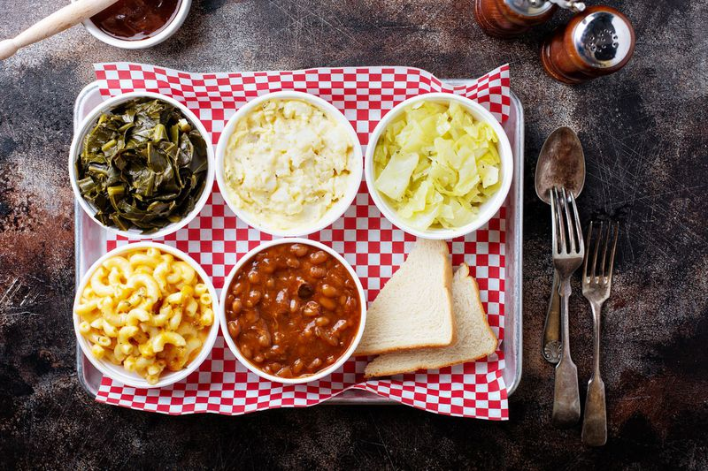 Sides from Hattie Marie's.