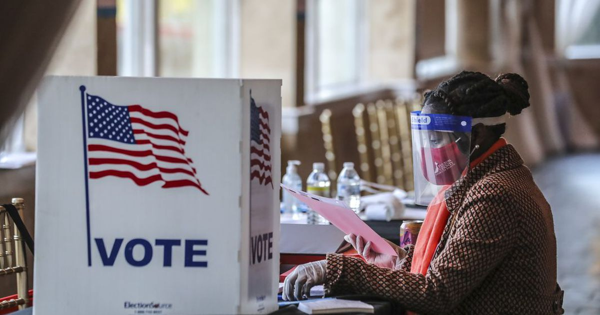 Fulton County election results delayed after pipe bursts in room with ballots