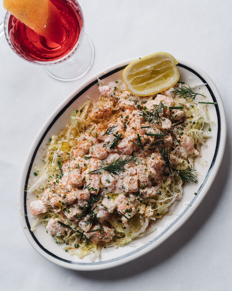 La Lucha's Shrimp Remoulade, from Ford Fry's restaurant in Houston, is based on a sauce that his grandmother made. Courtesy of Andrew Thomas Lee