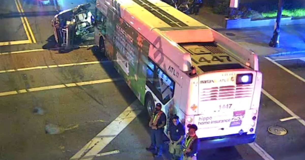 MARTA bus driver, multiple passengers injured in crash in NE Atlanta