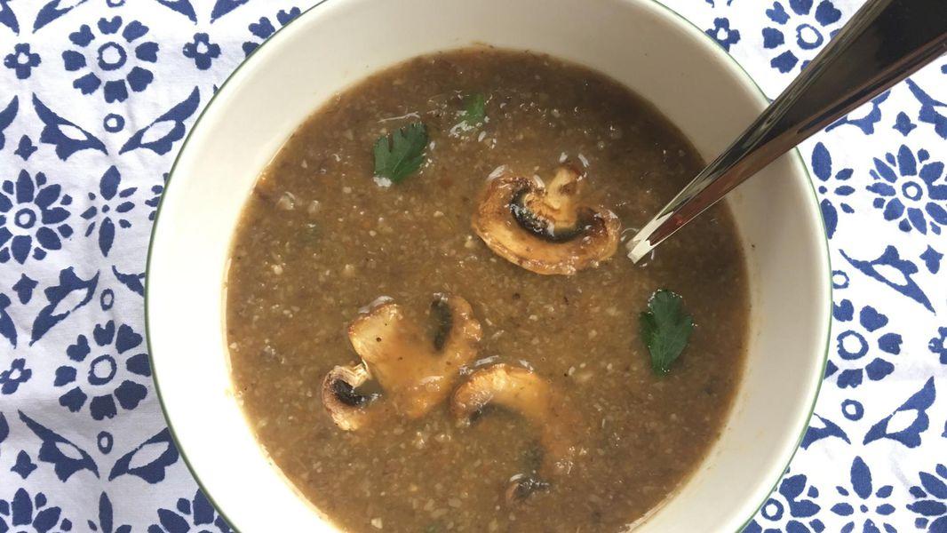 Recipe No Cream Creamy Mushroom Soup