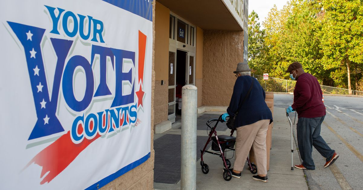 Appeals court stops more paper backups of Georgia voter records