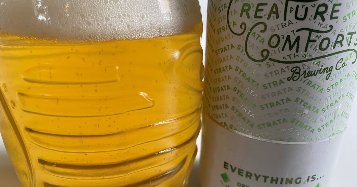 Beer Pick: Creature Comforts Everything Is Strata Dry Hopped Pilsner