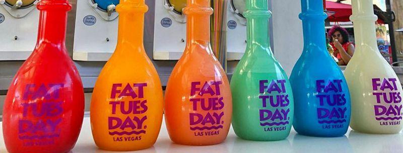 Daiquiris from Fat Tuesday.