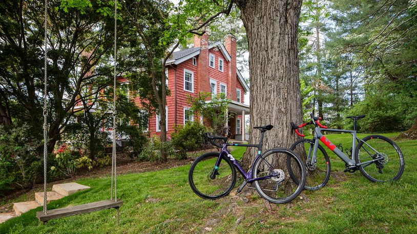 Cyclists will appreciate the pedaling experience offered at The Applewood Manor in Asheville, owned and operated by a former competitive cyclist. Courtesy of Aaron Hogsed