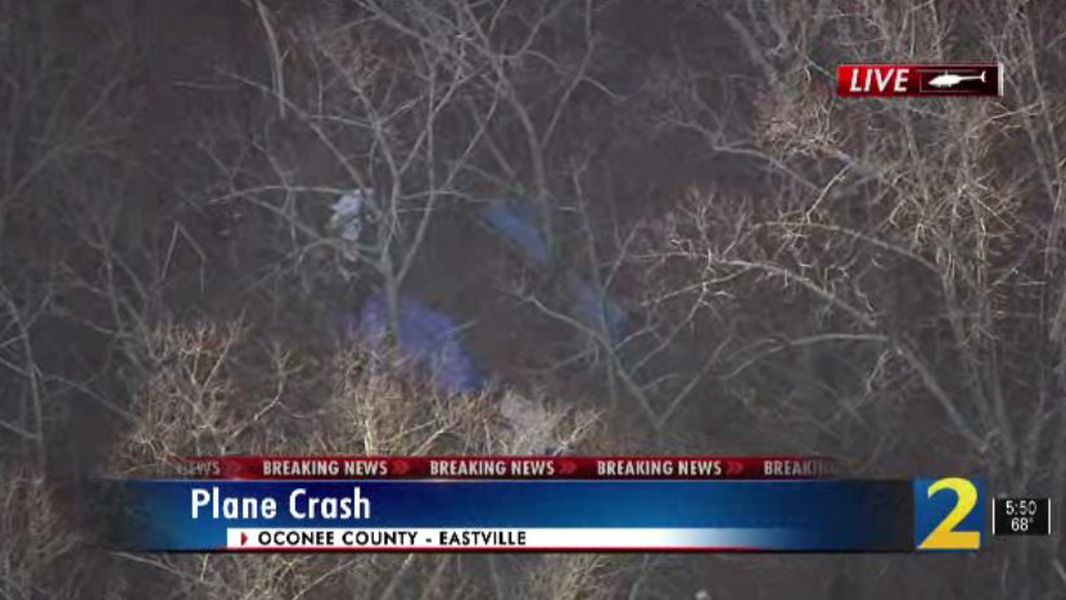 Small Plane Crashes In Oconee County