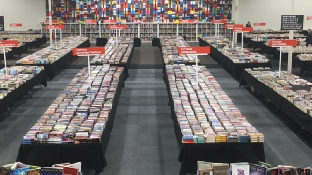Gwinnett Book Store Books By The Pound Opens Its Door