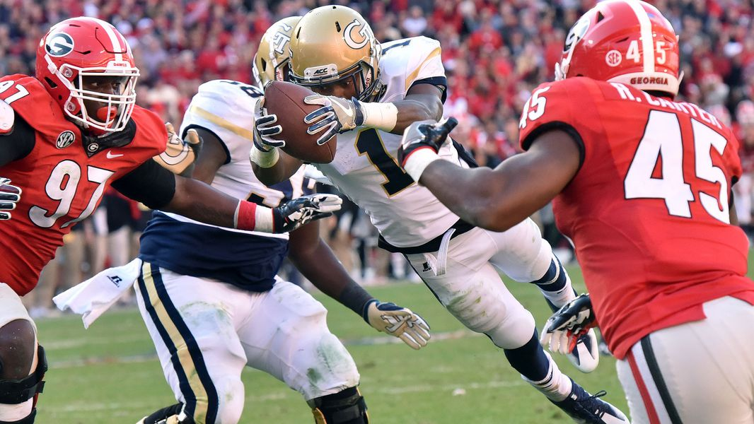 Looking Ahead To 2017 For Uga And Tech One S Up One S Down