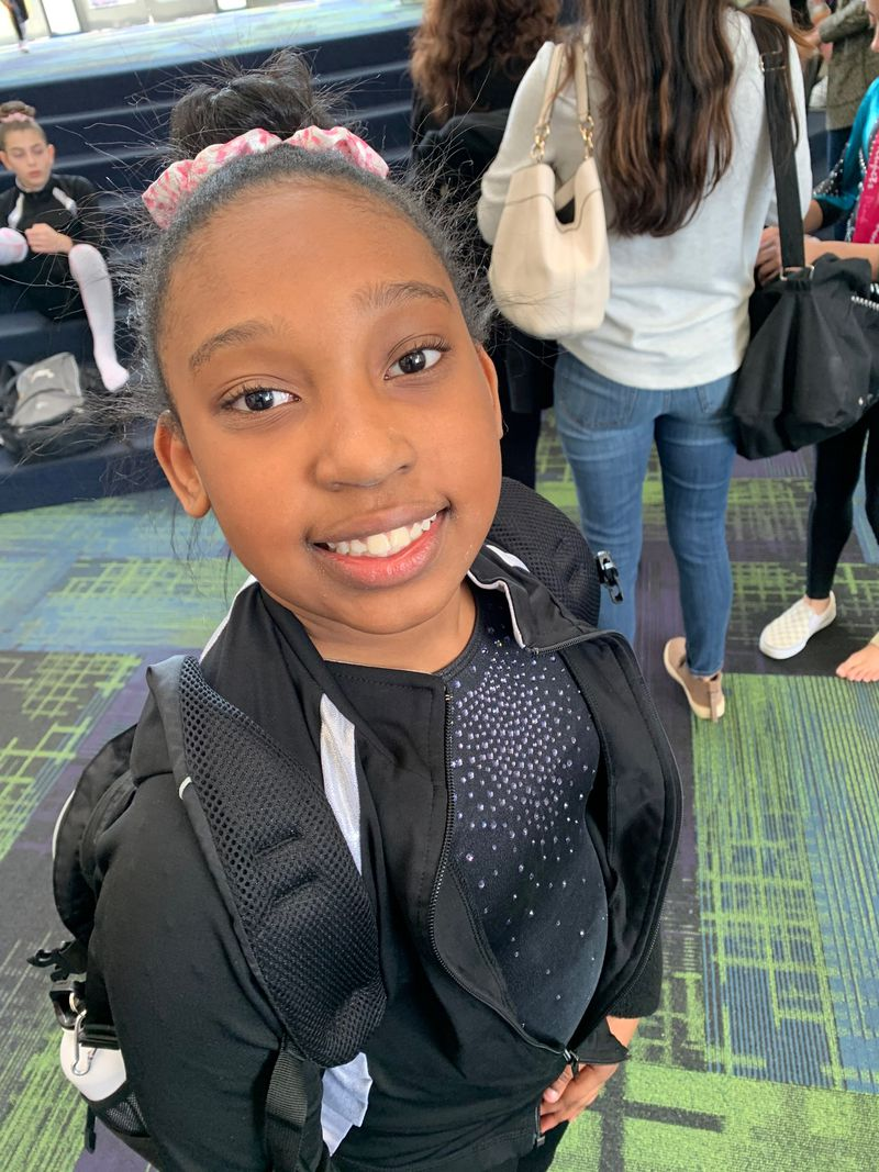 As part of the Stewarts' cost-cutting, their 11-year-old daughter Meghan is no longer doing gymnastics. Her mother Tiffany says that switching to a different extracirricular activity should save up to $6,000 a year in club membership, uniforms and competition travel. (Contributed)
