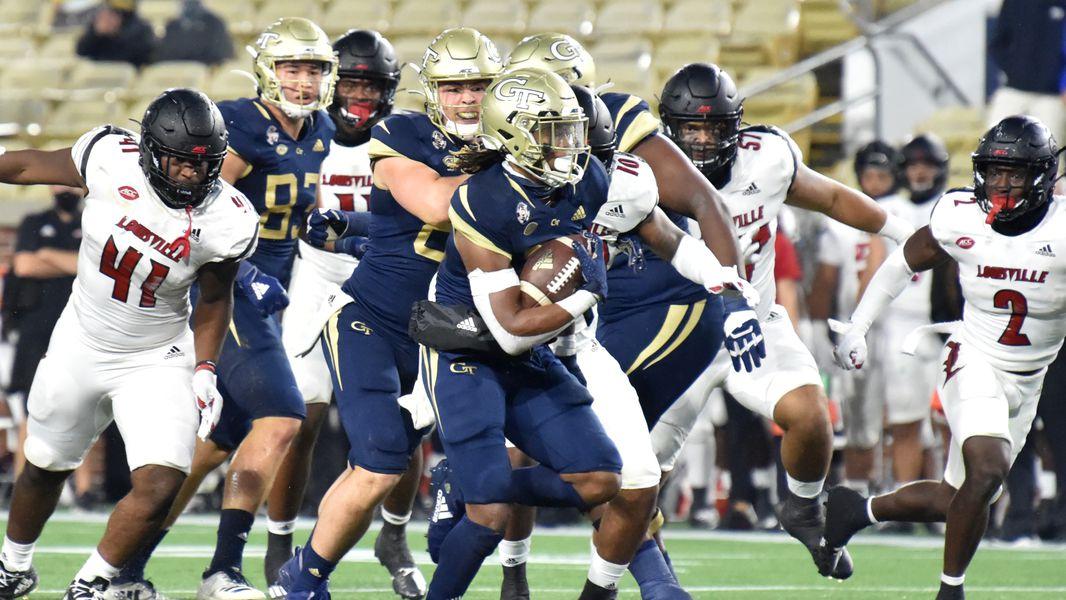 Georgia Tech Explains 2 Highlight Reel Touchdowns Against Louisville