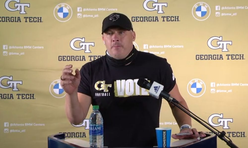 Bristly Geoff Collins responds to criticism, questioning