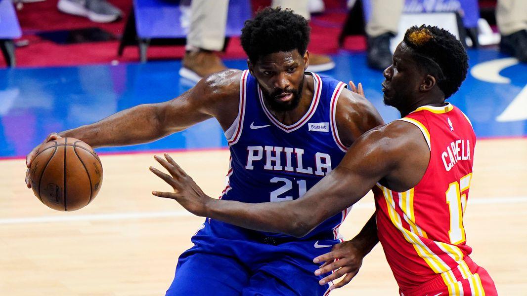 Capela, Hawks still seeking a way to slow 76ers' Embiid