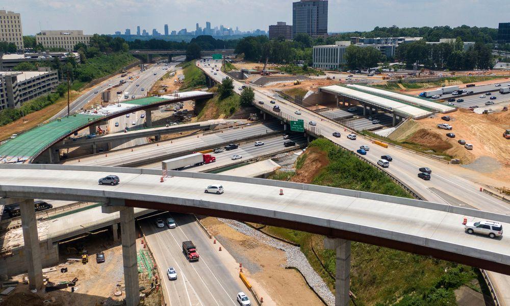 Metro Atlanta: Get ready for a decade of road construction