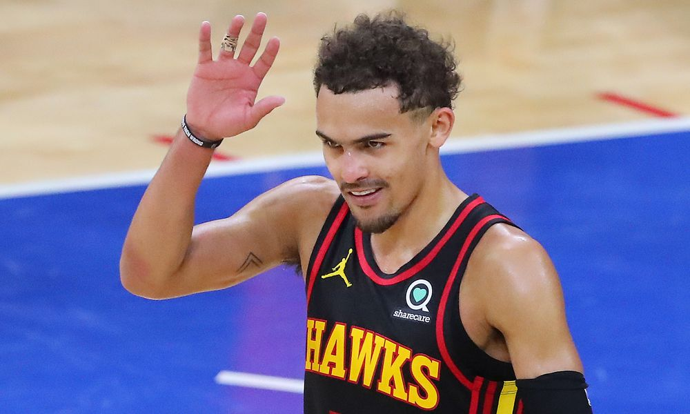 Trae Young's will, if not his shooting, push Hawks onward