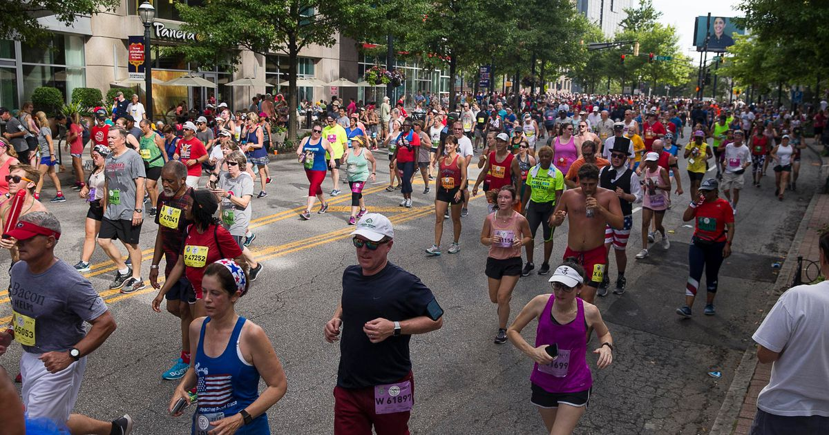 AJC Peachtree Road Race 2020 continues for unprecedented second day