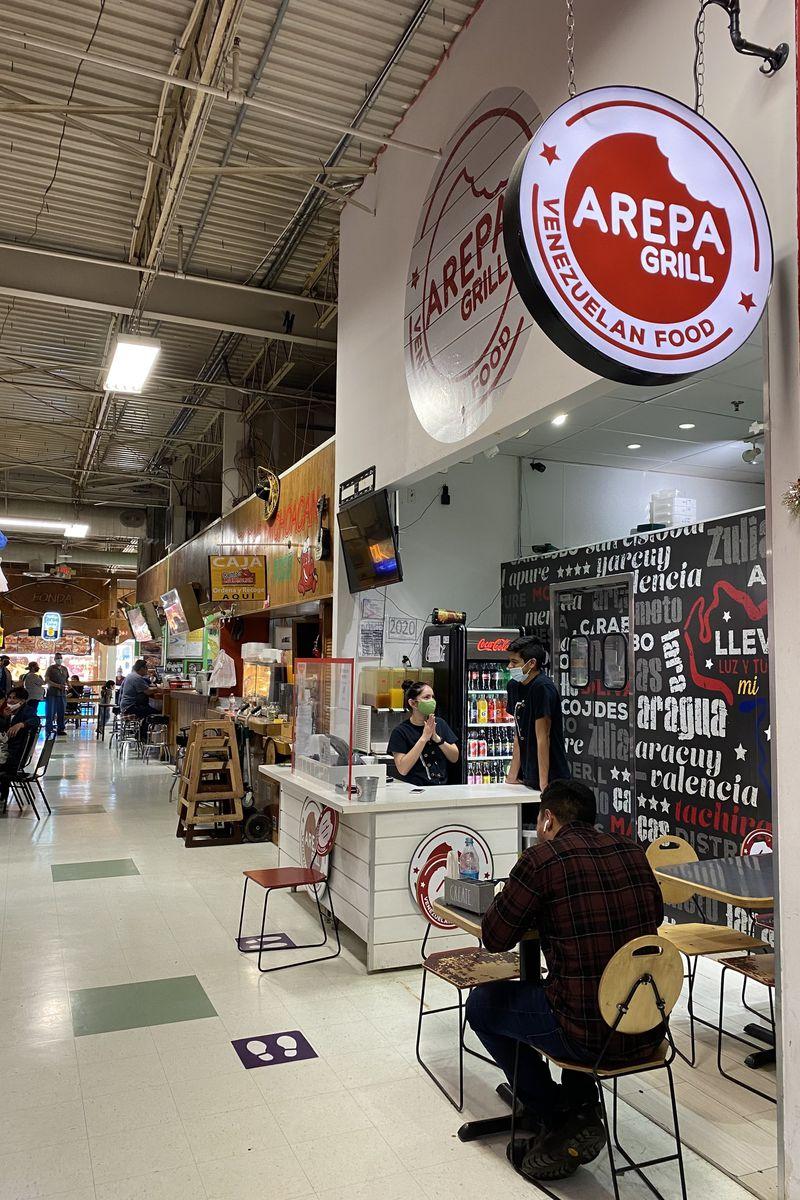 Araba Grill es un restaurante de mostrador que abrió sus puertas en 2019 en Plaza Fiesta.  Otra ubicación en Bufford Highway abrirá en junio.  Likoya Figueroa / Likoya.Biguero@j.com