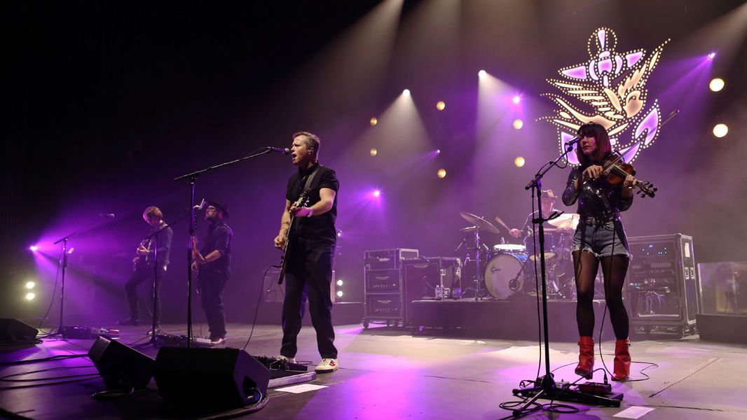 Four-time Grammy winner and former Drive-By Trucker Jason Isbell and the 400 Unit played the first of two sold out Fox Theatre shows Thursday night, February 8, 2018. Photo: Robb Cohen Photography & Video /RobbsPhotos.com