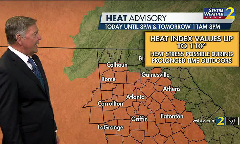 FRIDAY'S WEATHER-TRAFFIC: Heat, air quality advisories issued for 2nd day
