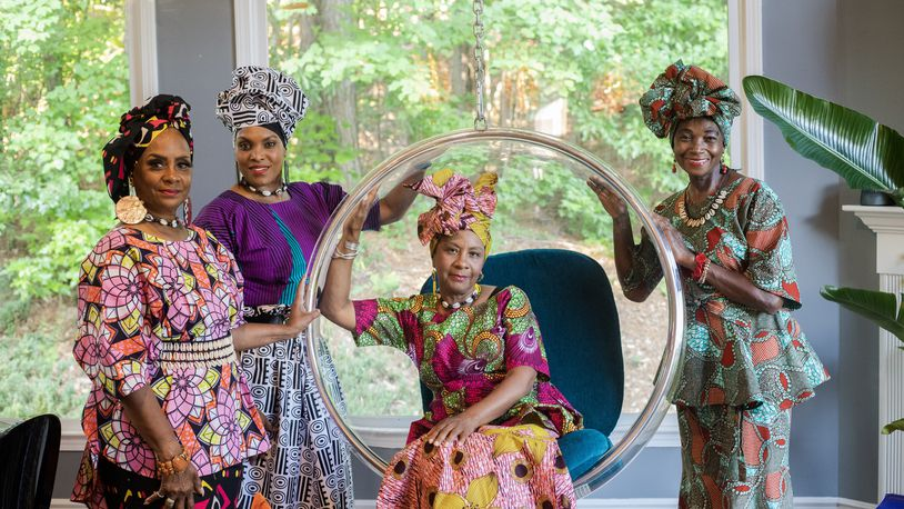 Designer, Adiellah Bates participated in the Sealed Nectar Fashion Show, and features her latest line from her label, Aya Donna.