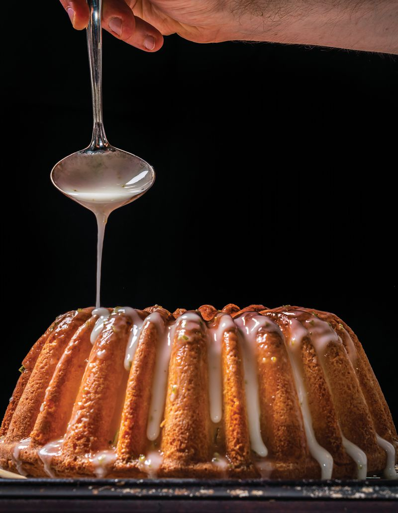 """Aunt Lucille's 7UP Pound Cake brings with it happy memories for chef Deborah VanTrece, author of """"The Twisted Soul Cookbook: Modern Soul Food With Global Flavors"""" (Rizzoli New York, 2021). Courtesy of Noah Fecks"""