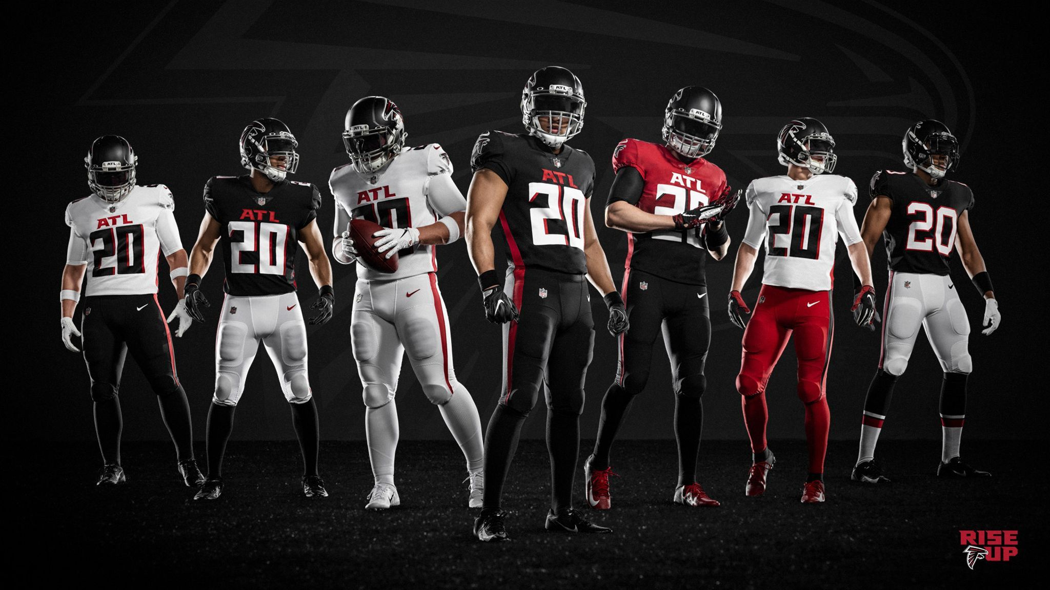 Falcons' jersey schedule for 2020 season