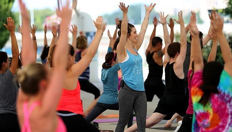 Free Yoga Class And Other Fun Things To Do On Tuesday