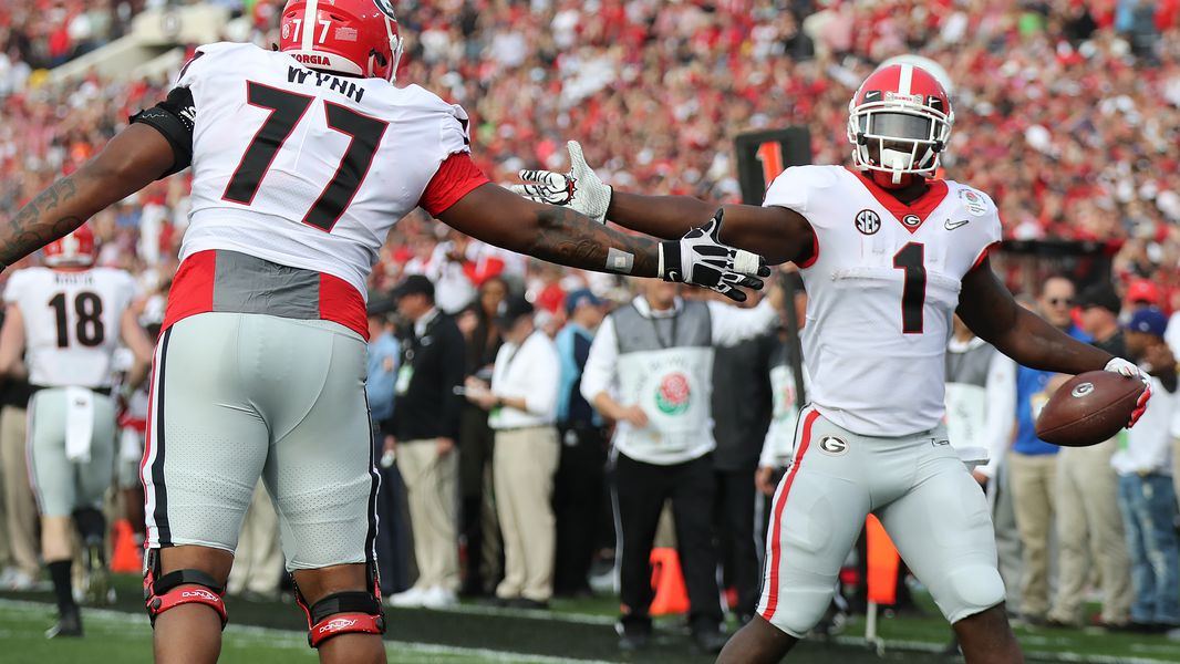 In-game Replay: Sony Michel scores third touchdown of Rose Bowl