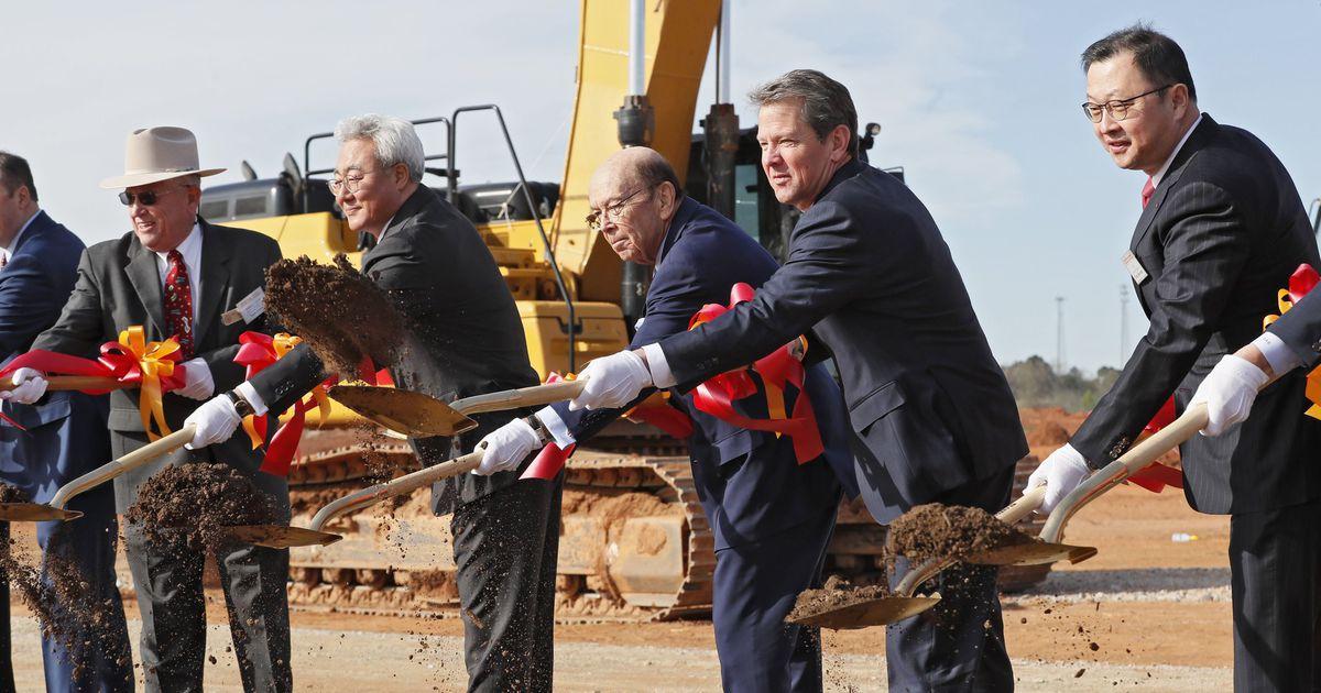 Kemp calls for Biden to overturn ruling threatening SK battery plant - Atlanta Journal Constitution