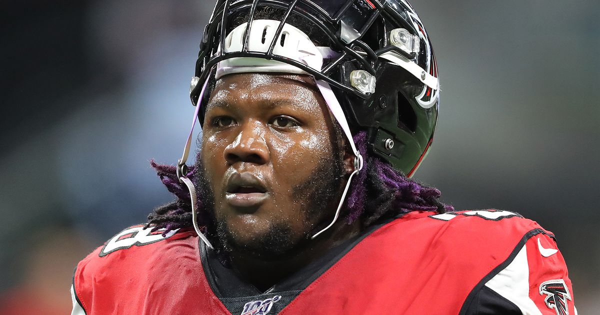 Falcons' Jamon Brown absent from past three practices