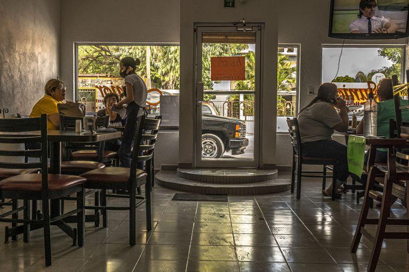 El Junior, the restaurant where Miriam Rodríguez met with Sama, a member of the local cartel, the Zetas, in San Fernando, Mexico.